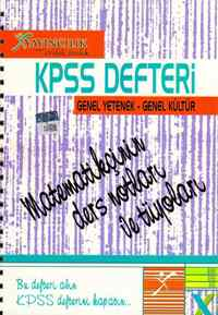 KPSS Defteri Genel Kültür Genel Yetenek