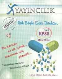 X KPSS Eğitim Bilimleri Soru Bankası (2013)