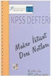 X KPSS Makro İktisat Hukuku Ders Notları