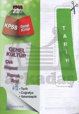 2013 KPSS Genel Kültür Çek Kopart Yaprak Test