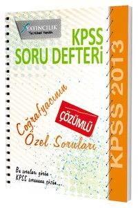 X KPSS GYGK Coğrafya Çözümlü Soru Defteri