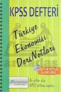 2014 KPSS Defteri - Türkiye Ekonomisi Ders Notları