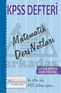 2014 KPSS Defteri - Matematik Ders Notları