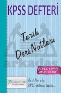 2014 KPSS Defteri - Tarih Ders Notları