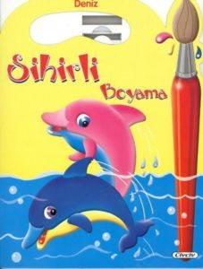 Sihirli Boyama Kitabi D.-Deniz