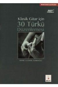Klasik Gitar İçin 30 Türkü+Mp3