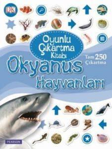 DK Oyunlu Çıkartma Okyanus Hayvanları
