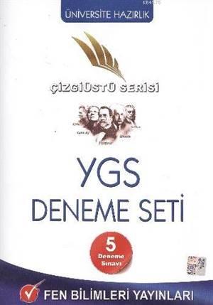 YGS Deneme Seti 5 Deneme Sınavı; Çizgiüstü Serisi