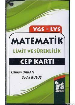 YGS-LYS Matematik Limit Ve Süreklilik Cep Kartı