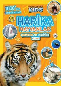 Harika Hayvanlar Çıkartma ve Aktivite Kitabı