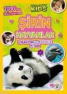 Şirin Hayvanlar Çıkartma ve Aktivite Kitabı
