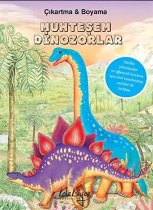 Muhteşem Dinozorlar (Çıkartma Boyama)