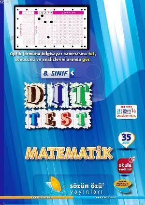 Sözün Özü 8.Sınıf Matematik Dıt Test ( 35 Adet )