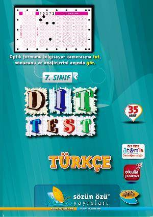 Sözün Özü 7.Sınıf Türkçe Dıt Test ( 35 Adet )