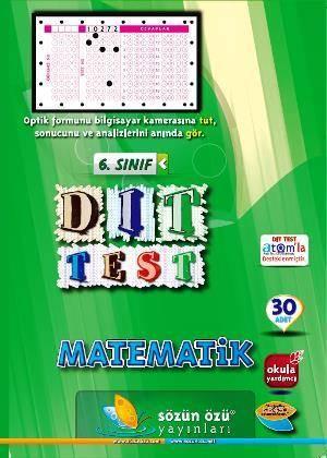 Sözün Özü 6.Sınıf Matematık Dıt Test ( 26 Adet )
