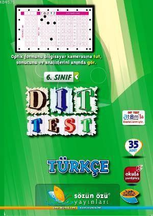 Sözün Özü 6.Sınıf Türkçe Dıt Test ( 35 Adet )
