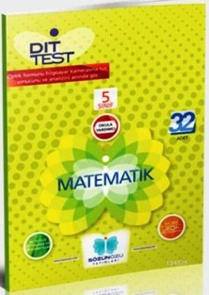 Sözün Özü 5.Sınıf Matematik Dıt Test ( 40 Adet )