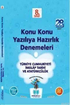 Sözün Özü 8.Sınıf T.C. İnkılap Tarihi Ve Atatürkçülük Konu Konu Yazılıya Hazırlık Denm. (28 Adet)