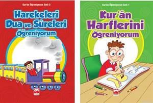 Kur-An Öğreniyorum Seti - Okul Öncesi  -   Muştu (2  Kitap) -   2013