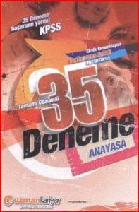 Uzman KPSS Anayasa Tamamı Çözümlü 35 Deneme