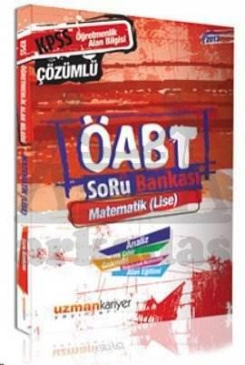 Uzman ÖABT Matematik Lise Çözümlü Soru Bankası