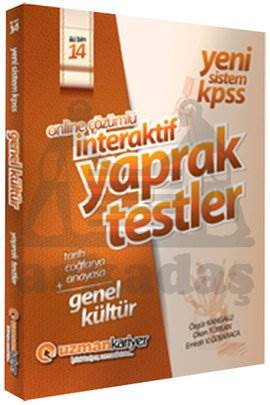 2014 KPSS Genel Yetenek İnteraktif Çek Kopar Testleri