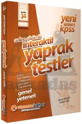 2014 KPSS Genel Kültür İnteraktif Çek Kopar Testleri