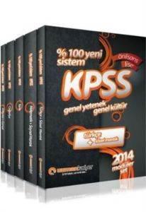 Uzman KPSS Genel Yetenek Genel Kültür Lise Önlisans Konu Anlatımlı Modüler Set 2014
