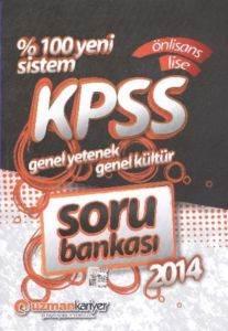 Uzman KPSS Genel Yetenek Genel Kültür Soru Bankası Önlisans Lise 2014