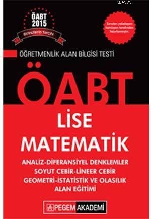 ÖABT Lise Matematik Öğretmenliği Konu Anlatımlı Modüler Set 2015