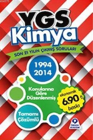 YGS Kimya Son 21 Yilin Çikmis Sorulari 1994-2014