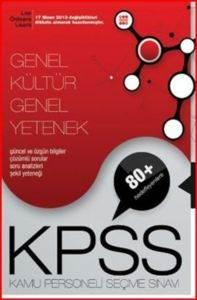 KPSS Genel Kültür Genel Yetenek Lise -Önlisans Konu Anlatımlı Tek Kitap