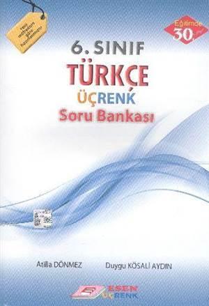 6.Sınıf Türkçe Üçrenk Soru Bankası (2014)