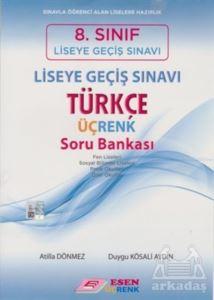 8.Sınıf Türkçe Üç Renk Soru Bankası-2016