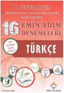 8. Sınıflar İçin Türkçe 16 Emin Adım Denemeleri