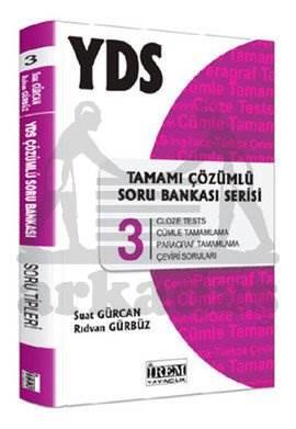 İrem YDS Tamamı Çözümlü Soru Bankası 3.Serisi 2014
