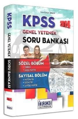 2014 KPSS Genel Yetenek Soru Bankası
