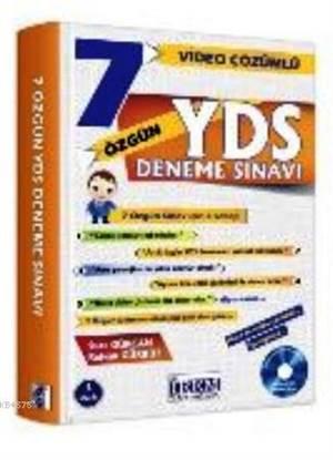 YDS Video Çözümlü 7 Özgün Deneme Sınavı (CD'li)
