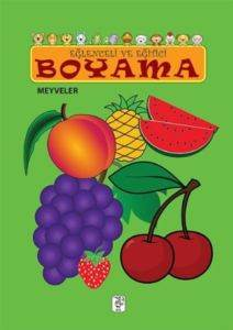 Eğlenceli ve Eğitici Boyama - Meyveler