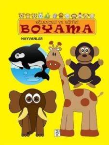 Eğlenceli ve Eğitici Boyama - Hayvanlar
