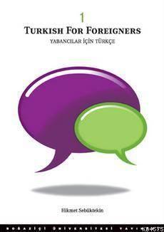 Turkish for Foreigners; Yabancılar İçin Türkçe 1