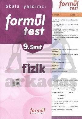 Formül 2014 9. Sınıf Fizik Yaprak Test