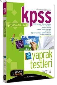 KPSS Eğitim Bilimleri Çek Kopar Yaprak