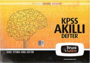 KPSS Akıllı Defter Genel Kültür - Genel Yetenek