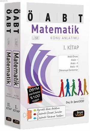 ÖABT Lise Matematik Konu Anlatımlı - 2 Kitap Takım