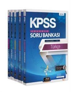 Beyaz Kalem 2016 KPSS Lise Ön Lisans Soru Bankası Modüler Set (5 Kitap)