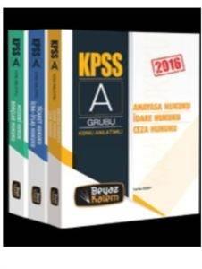 Beyaz Kalem 2016 KPSS A Grubu Hukuk Konu Anlatımlı