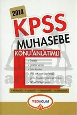 Yediiklim KPSS A Muhasebe Konu Anlatımlı 2014