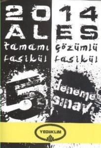 Yediiklim ALES Tamamı Çözümlü 5 Fasikül Deneme Seti 2014