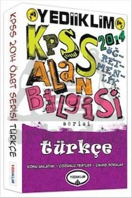 Yediiklim 2014 KPSS ÖABT Türkçe